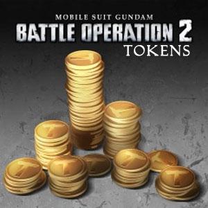 MOBILE SUIT GUNDAM BATTLE OPERATION 2 Tokens