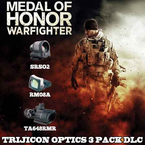 Buy Medal of Honor Warfighter DLC Trijicon Optics 3 Pack CD KEY Compare Prices