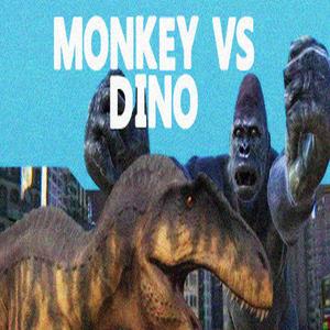 Monkey vs Dino