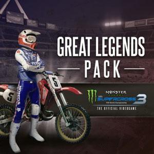 Monster Energy Supercross 3 Great Legends Pack