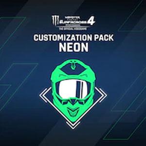 Monster Energy Supercross 4 Customization Pack Neon