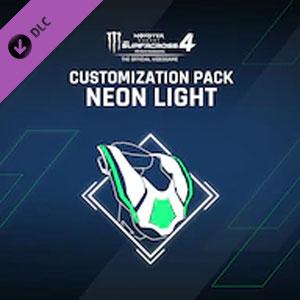 Monster Energy Supercross 4 Customization Pack Neon Light