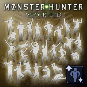 Monster Hunter World Complete Gesture Pack