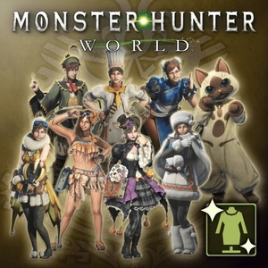 Monster Hunter World Complete Handler Costume Pack