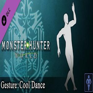 Monster Hunter World Gesture Cool Dance