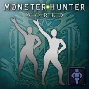 Monster Hunter World Gesture Disco Fever