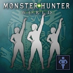 Monster Hunter World Gesture Feverish Dance