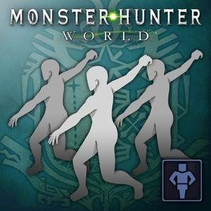 MONSTER HUNTER WORLD Gesture Gallivanting Dance