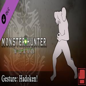 Monster Hunter World Gesture Hadoken