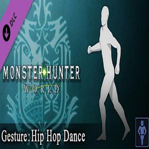 Monster Hunter World Gesture Hip Hop Dance