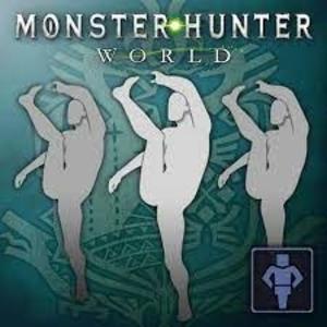 Monster Hunter World Gesture Interpretive Dance