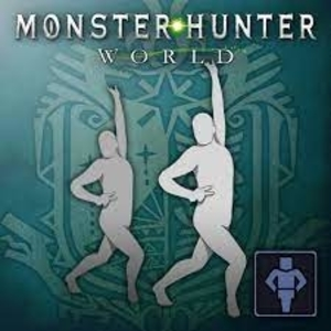 Monster Hunter World Gesture Passionate