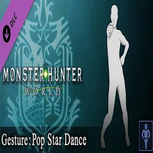 Monster Hunter World Gesture Pop Star Dance