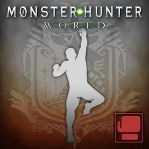 Monster Hunter World Gesture Shoryuken