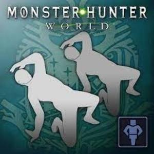 Monster Hunter World Gesture Spin O Rama
