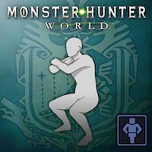 Monster Hunter World Gesture Squat Day