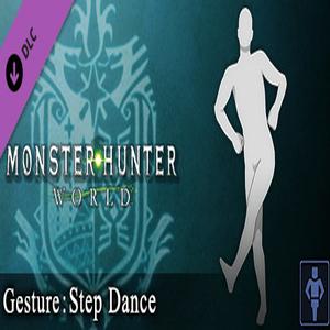 Monster Hunter World Gesture Step Dance