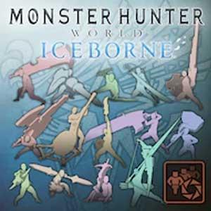 Monster Hunter World Iceborne Pose Set Weapon Pose