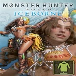 Monster Hunter World The Handler's Festive Samba Costume