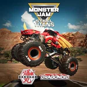 Monster Jam Steel Titans Bakugan Dragonoid