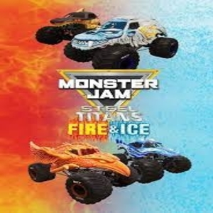 Monster Jam Steel Titans Fire and Ice