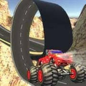 Monster Truck Trails Stunt