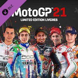 MotoGP 21 Limited Edition Liveries