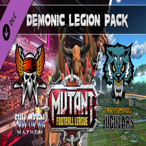 Buy Mutant Football League Demonic Legion Pack CD Key Compare Prices