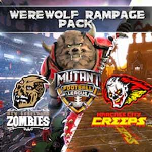 Mutant Football League Werewolf Rampage Pack