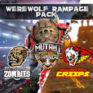 Mutant Football League Werewolf Rampage Pack