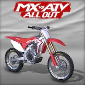 MX vs ATV All Out 2017 Honda CRF 450R