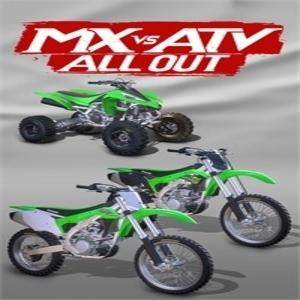 MX vs ATV All Out 2017 Kawasaki Vehicle Bundle