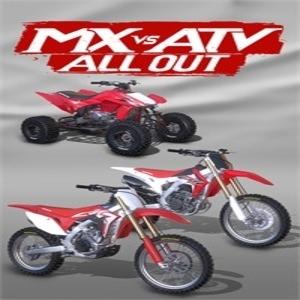 MX vs ATV All Out 2017 Honda Vehicle Bundle