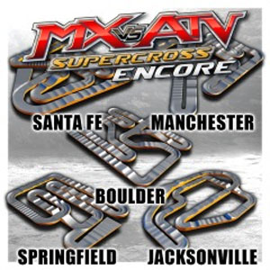 MX vs. ATV Supercross Encore Supercross Track Pack 4