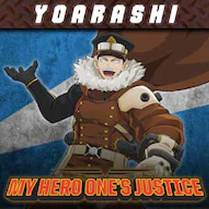 MY HERO ONE'S JUSTICE Playable Character Inasa Yoarashi