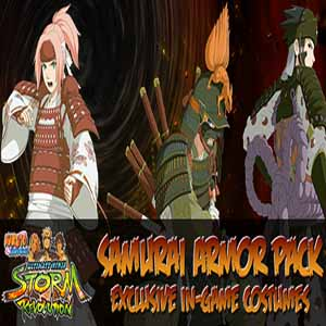 Buy Naruto Shippuden Ultimate Ninja Storm Revolution Samurai Armor Pack PS3 Game Code Compare Prices