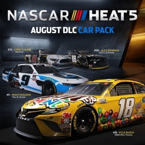 NASCAR Heat 5 August Pack