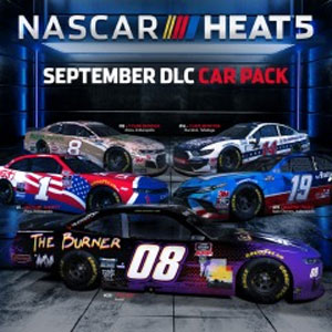 NASCAR Heat 5 September Pack