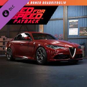 Need for Speed Payback Alfa Romeo Quadrifoglio