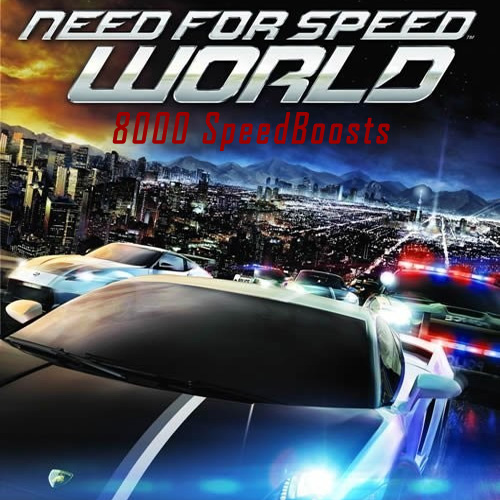 Need for Speed World 8000 SpeedBoosts