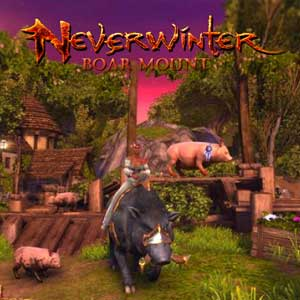 Neverwinter Boar Mount