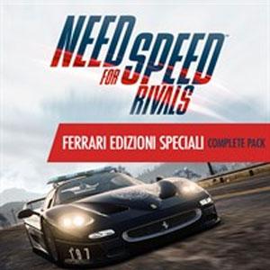 NFS Rivals Ferrari Edizioni Speciali Complete Pack