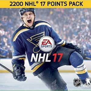 Buy NHL 17 2200 NHL Points Xbox One Code Compare Prices