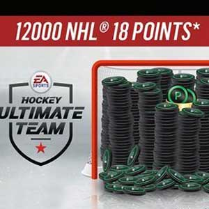 NHL 18 Ultimate Team 12000 POINTS
