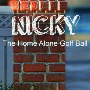 Nicky The Home Alone Golf Ball