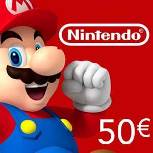 Buy Nintendo Eshop 50 Euro Card Compare Prices