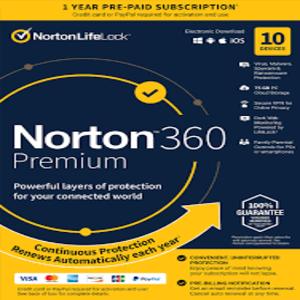 Buy Norton 360 Premium CD KEY Compare Prices