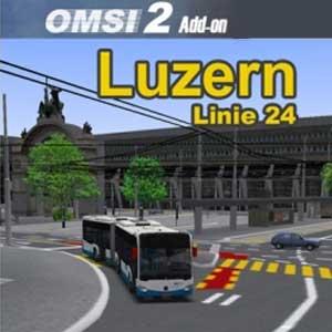 OMSI 2 Luzern Linie 24 Add-On
