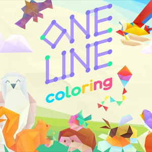 One Line Coloring
