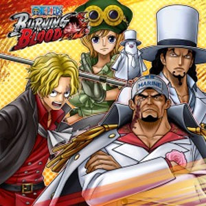 ONE PIECE BURNING BLOOD GOLD Movie Pack 2